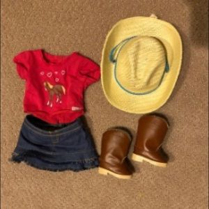 American Girl horse back riding outfit